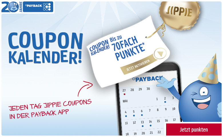 PAYBACK Coupon Kalender